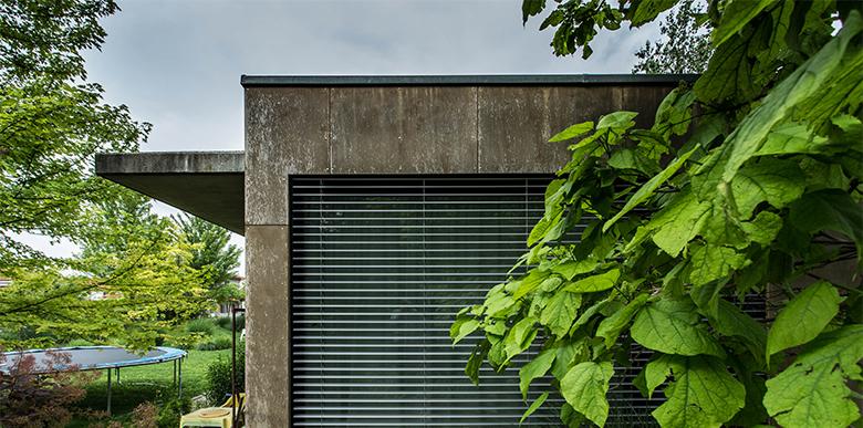 Concrete|plywood house, Bratislava