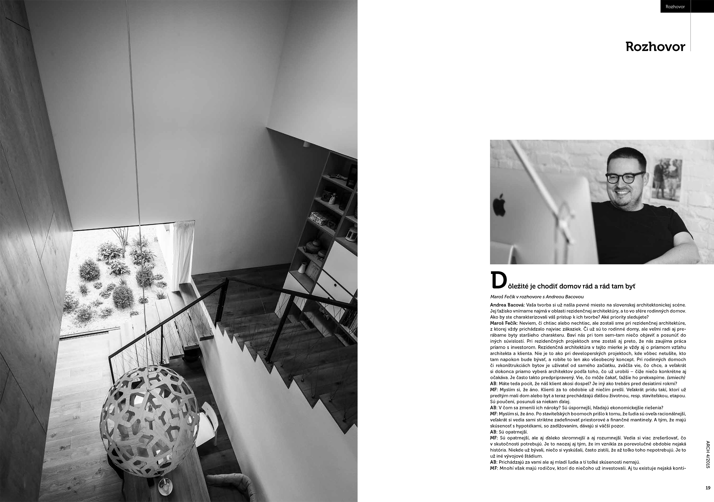 PLUSMINUSARCHITECTS › Interview – ARCH magazine 04/2015