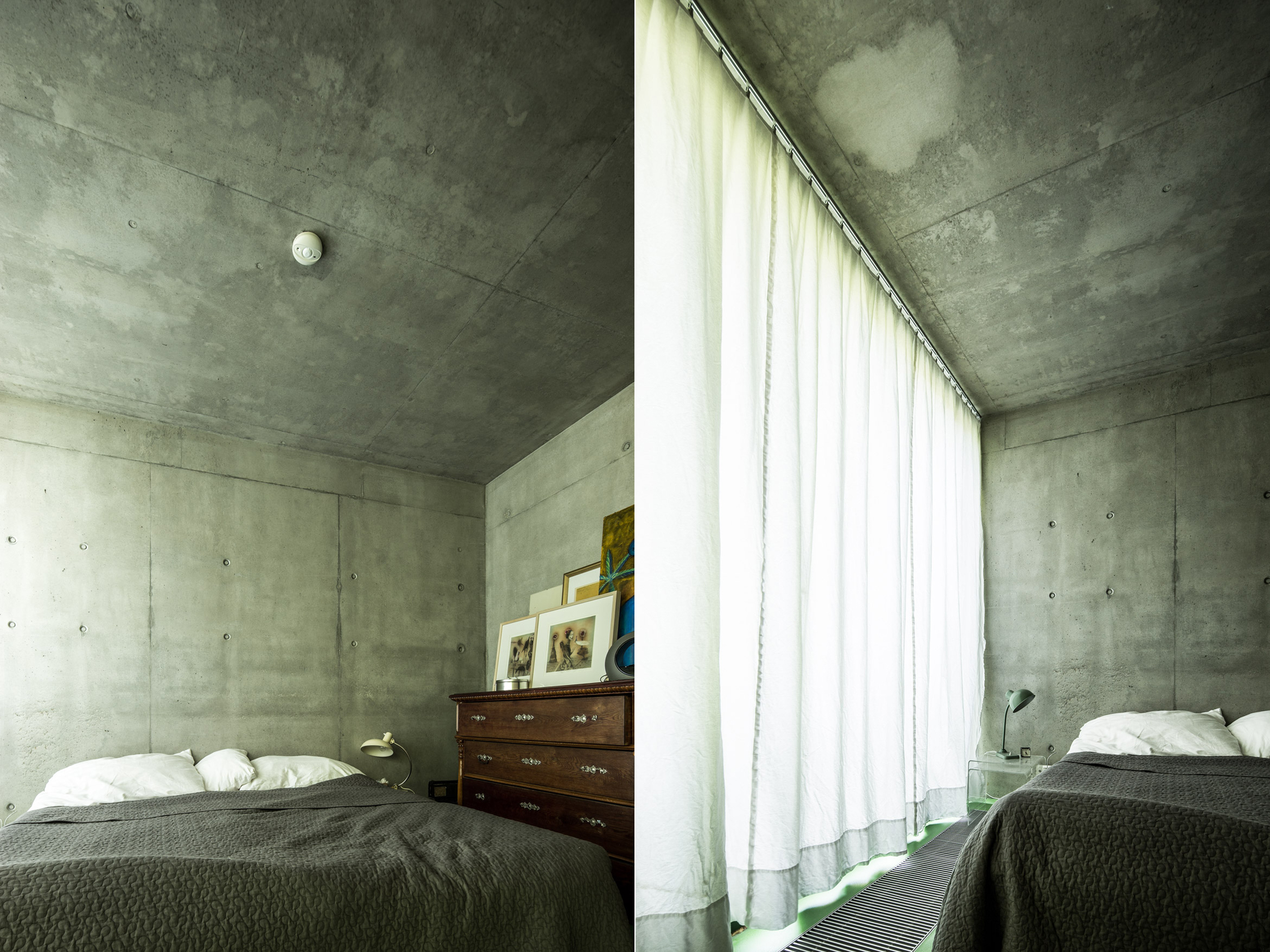 2f2621035a PLUSMINUSARCHITECTS › Concrete/plywood House – sunday test shooting